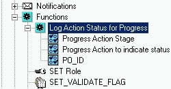 Screenshot after having created 3 Function Attributes