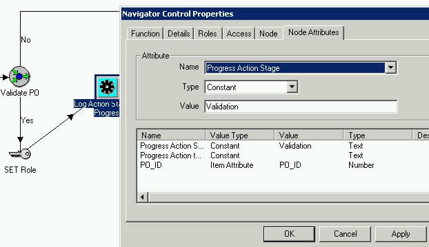 Pass parameter value for Action Stage